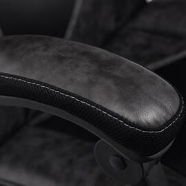 Кресло компьютерное «Arena» серый/черный TetChair, Цвет товара: Серый, изображение 11