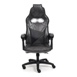 Кресло компьютерное «Arena» серый/черный TetChair, Цвет товара: Серый, изображение 2