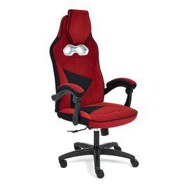 Кресло компьютерное «Arena» флок  бордовый/черный, 10/35 TetChair, Цвет товара: бордовый