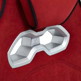 Кресло компьютерное «Arena» флок  бордовый/черный, 10/35 TetChair, Цвет товара: бордовый, изображение 7