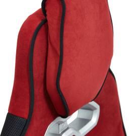 Кресло компьютерное «Arena» флок  бордовый/черный, 10/35 TetChair, Цвет товара: бордовый, изображение 8