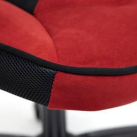 Кресло компьютерное «Arena» флок  бордовый/черный, 10/35 TetChair, Цвет товара: бордовый, изображение 9