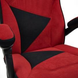 Кресло компьютерное «Arena» флок  бордовый/черный, 10/35 TetChair, Цвет товара: бордовый, изображение 11