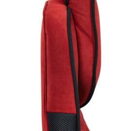 Кресло компьютерное «Arena» флок  бордовый/черный, 10/35 TetChair, Цвет товара: бордовый, изображение 13
