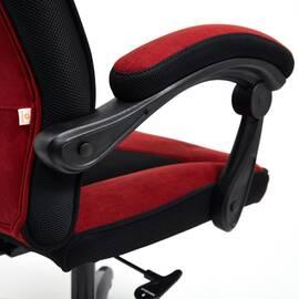 Кресло компьютерное «Arena» флок  бордовый/черный, 10/35 TetChair, Цвет товара: бордовый, изображение 14