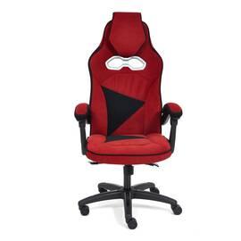 Кресло компьютерное «Arena» флок  бордовый/черный, 10/35 TetChair, Цвет товара: бордовый, изображение 2