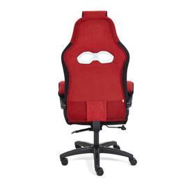 Кресло компьютерное «Arena» флок  бордовый/черный, 10/35 TetChair, Цвет товара: бордовый, изображение 5
