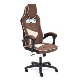 Кресло компьютерное «Arena» флок коричневый/бежевый 6/7 TetChair, Цвет товара: Коричневый