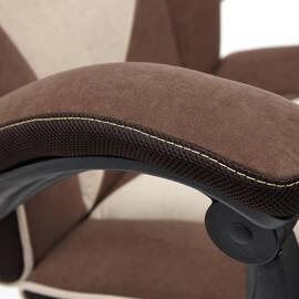 Кресло компьютерное «Arena» флок коричневый/бежевый 6/7 TetChair, Цвет товара: Коричневый, изображение 10