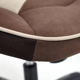 Кресло компьютерное «Arena» флок коричневый/бежевый 6/7 TetChair, Цвет товара: Коричневый, изображение 11