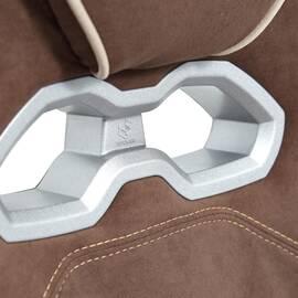 Кресло компьютерное «Arena» флок коричневый/бежевый 6/7 TetChair, Цвет товара: Коричневый, изображение 12
