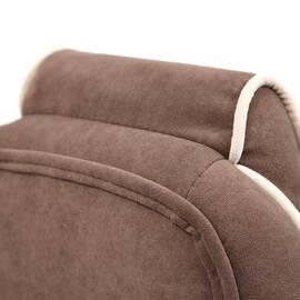 Кресло компьютерное «Arena» флок коричневый/бежевый 6/7 TetChair, Цвет товара: Коричневый, изображение 16