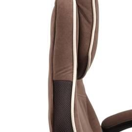 Кресло компьютерное «Arena» флок коричневый/бежевый 6/7 TetChair, Цвет товара: Коричневый, изображение 17