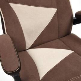 Кресло компьютерное «Arena» флок коричневый/бежевый 6/7 TetChair, Цвет товара: Коричневый, изображение 18