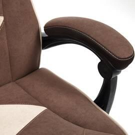 Кресло компьютерное «Arena» флок коричневый/бежевый 6/7 TetChair, Цвет товара: Коричневый, изображение 20
