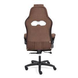 Кресло компьютерное «Arena» флок коричневый/бежевый 6/7 TetChair, Цвет товара: Коричневый, изображение 5