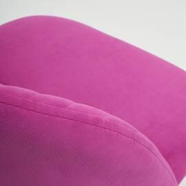 Компьютерное кресло Melody флок фиолетовый 138 TetChair, Цвет товара: Фиолетовый, изображение 6