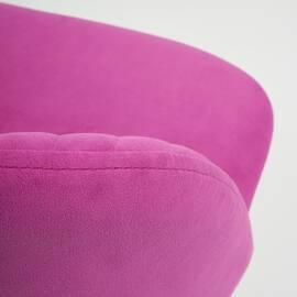 Компьютерное кресло Melody флок фиолетовый 138 TetChair, Цвет товара: Фиолетовый, изображение 7