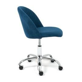 Компьютерное кресло Melody флок синий 32 TetChair, Цвет товара: Синий, изображение 2