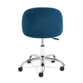 Компьютерное кресло Melody флок синий 32 TetChair, Цвет товара: Синий, изображение 5