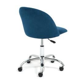Компьютерное кресло Melody флок синий 32 TetChair, Цвет товара: Синий, изображение 4