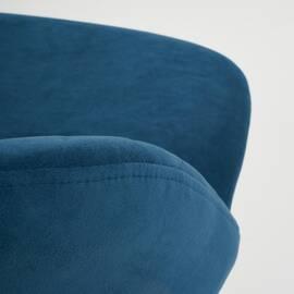 Компьютерное кресло Melody флок синий 32 TetChair, Цвет товара: Синий, изображение 6