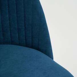 Компьютерное кресло Melody флок синий 32 TetChair, Цвет товара: Синий, изображение 7