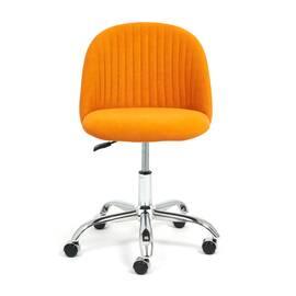 Компьютерное кресло Melody флок оранжевый 18 TetChair, Цвет товара: Оранжевый, изображение 3