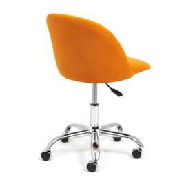 Компьютерное кресло Melody флок оранжевый 18 TetChair, Цвет товара: Оранжевый, изображение 4