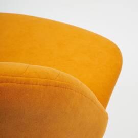 Компьютерное кресло Melody флок оранжевый 18 TetChair, Цвет товара: Оранжевый, изображение 6