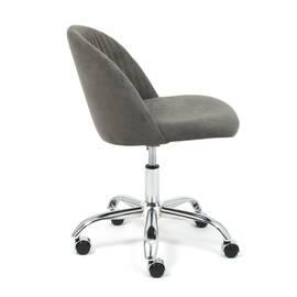 Компьютерное кресло Melody флок серый 29 TetChair, Цвет товара: Серый, изображение 3