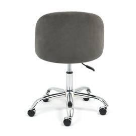 Компьютерное кресло Melody флок серый 29 TetChair, Цвет товара: Серый, изображение 5