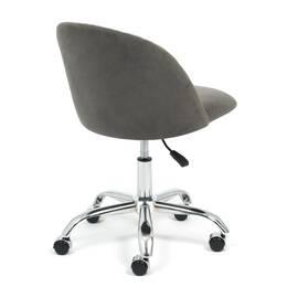 Компьютерное кресло Melody флок серый 29 TetChair, Цвет товара: Серый, изображение 4