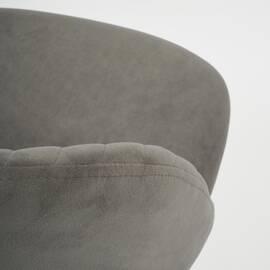 Компьютерное кресло Melody флок серый 29 TetChair, Цвет товара: Серый, изображение 6