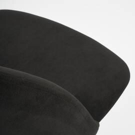 Компьютерное кресло Melody флок черный 35 TetChair, Цвет товара: Черный, изображение 7