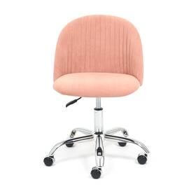 Компьютерное кресло Melody флок розовый 137 TetChair, Цвет товара: Розовый, изображение 2