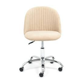 Компьютерное кресло Melody флок бежевый 7 TetChair, Цвет товара: Бежевый, изображение 2