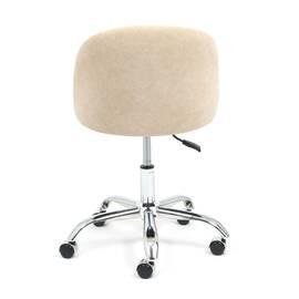 Компьютерное кресло Melody флок бежевый 7 TetChair, Цвет товара: Бежевый, изображение 5