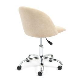 Компьютерное кресло Melody флок бежевый 7 TetChair, Цвет товара: Бежевый, изображение 4
