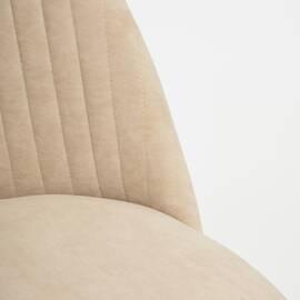 Компьютерное кресло Melody флок бежевый 7 TetChair, Цвет товара: Бежевый, изображение 6