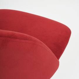 Компьютерное кресло Melody флок бордовый 10 TetChair, Цвет товара: бордовый, изображение 6