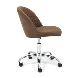 Компьютерное кресло Melody флок коричневый 6 TetChair, Цвет товара: Коричневый, изображение 2