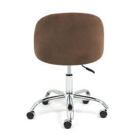 Компьютерное кресло Melody флок коричневый 6 TetChair, Цвет товара: Коричневый, изображение 5