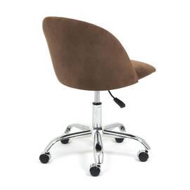 Компьютерное кресло Melody флок коричневый 6 TetChair, Цвет товара: Коричневый, изображение 4