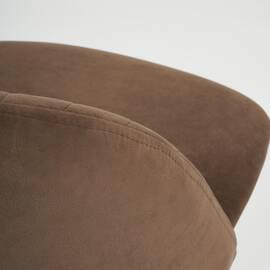Компьютерное кресло Melody флок коричневый 6 TetChair, Цвет товара: Коричневый, изображение 6