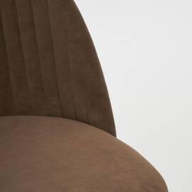 Компьютерное кресло Melody флок коричневый 6 TetChair, Цвет товара: Коричневый, изображение 7
