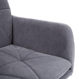 Компьютерное кресло Garda флок серый 29 TetChair, Цвет товара: Серый, изображение 6
