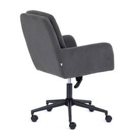 Компьютерное кресло Garda флок серый 29 TetChair, Цвет товара: Серый, изображение 4