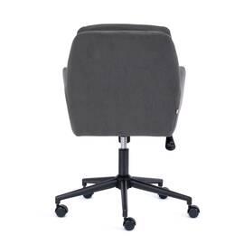 Компьютерное кресло Garda флок серый 29 TetChair, Цвет товара: Серый, изображение 5