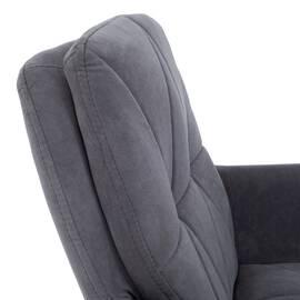 Компьютерное кресло Garda флок серый 29 TetChair, Цвет товара: Серый, изображение 7